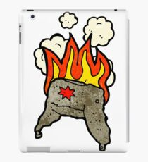 cartoon fur hat iPad Case/Skin