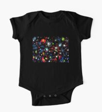 To the Moon and Beyond - Abstract One Piece - Short Sleeve
