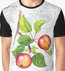 Pattern of red apples Graphic T-Shirt