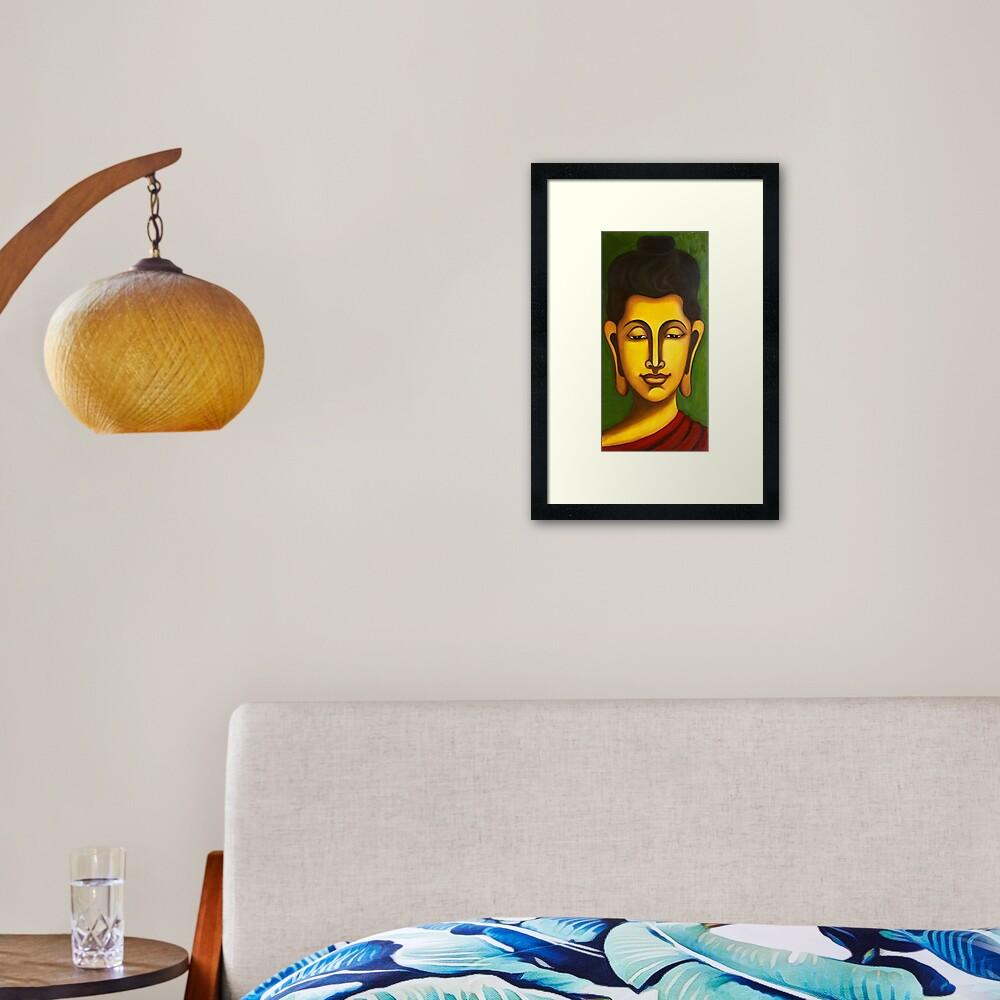 Buddha Abundance Framed Art Print
