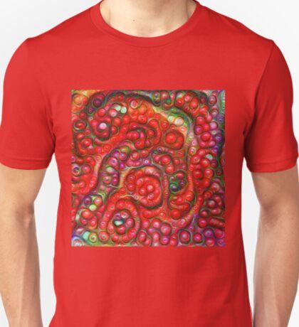 Vaccinium vitis-idaea #DeepDream T-Shirt