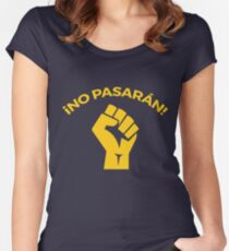 No pasaran Women's Fitted Scoop T-Shirt