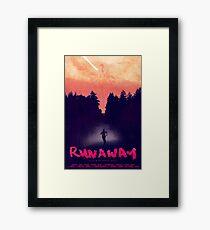 Kanye West -  Runaway Movie Poster Framed Print