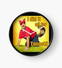 I Did It All For Tanooki! -- Sexy Super Mario Clock