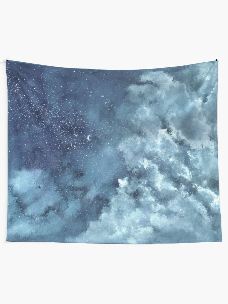 Alternate view of The Clouds I Tapestry