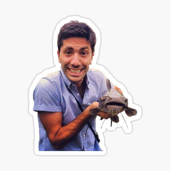 Nev Caught a CATFISH! Sticker