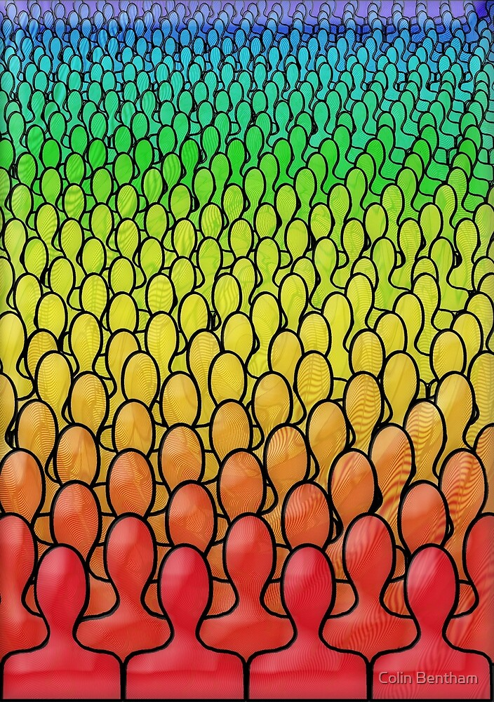 Rainbow People by Colin Bentham