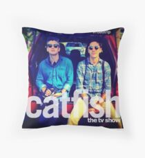 Catfish the TV Show Road Trip  Throw Pillow