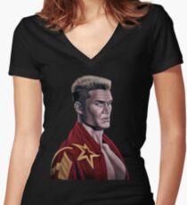 Ivan Women's Fitted V-Neck T-Shirt