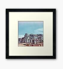 Enna, Sicily, Italy on film. Framed Print