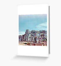 Enna, Sicily, Italy on film. Greeting Card