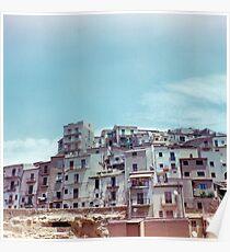 Enna, Sicily, Italy on film. Poster