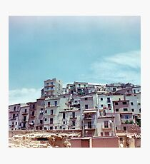 Enna, Sicily, Italy on film. Photographic Print