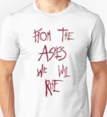 The 100 - from the ashes we will rise - red T-Shirt