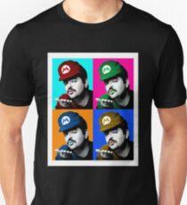 Warhol Inspired SexyMario -- Sexy Super Mario T-Shirt