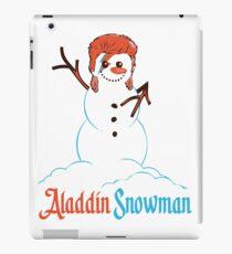 Aladdin Snowman iPad Case/Skin