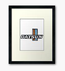 Datsun Grill Badge 1970's _01 Framed Print