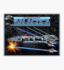 Battlestar Galactica Photographic Print