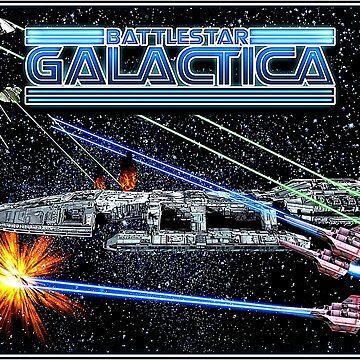 Battlestar Galactica by kayve