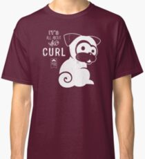 It's All About the Curl Tee (Vintage Look) Classic T-Shirt