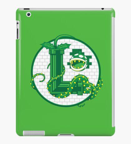 Super Luigi Emblem iPad Case/Skin