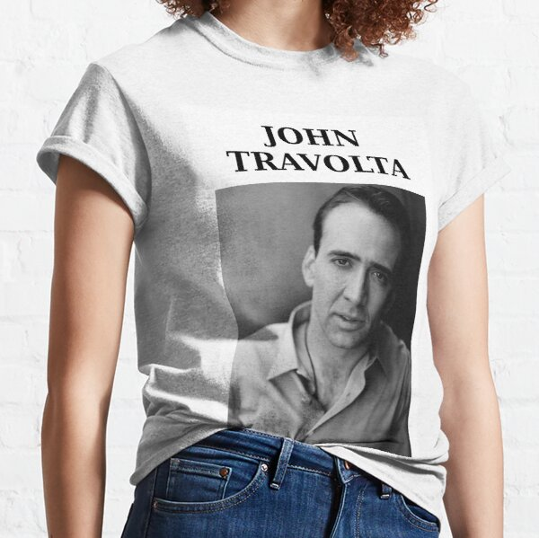 Nicolas Travolta... John Cage... WTF? Classic T-Shirt