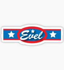 Evel Knievel - Horizontal Strip V.2 Sticker