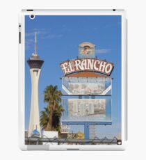 El Rancho Las Vegas iPad Case/Skin