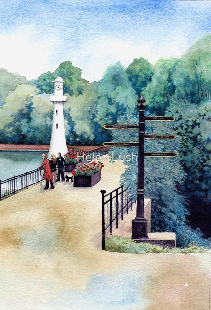 Scott Memorial, Roath Park, Cardiff by Helen Lush
