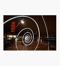 light painting Photographic Print