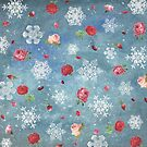 Snow and Roses by Paula Belle Flores