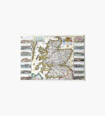 Map of Scotland - Geographicus Ecosse ratelband - 1747 Art Board