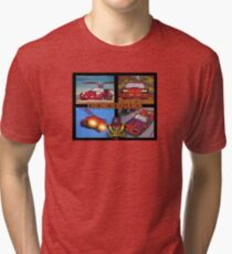 Thunderhawk Matt-Trakker.com MASK M.A.S.K. Tri-blend T-Shirt