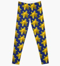 Yellow Daffodil Leggings