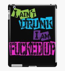 Drunk  iPad Case/Skin