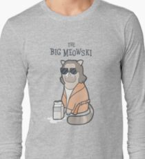 The Big Meowski Long Sleeve T-Shirt