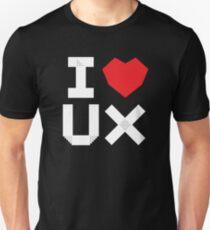 I Love UX Unisex T-Shirt