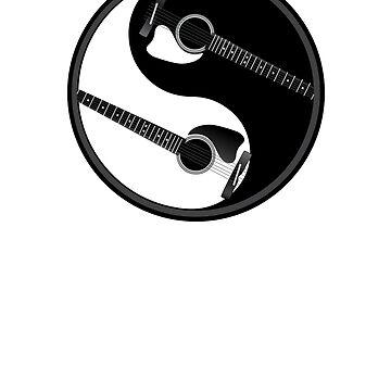 Ying Yang Gitarren von TheFlying6