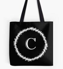 Monochrome Monogram C Tote Bag