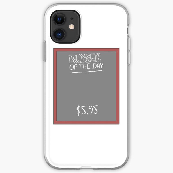 Burger of the Day iPhone Soft Case