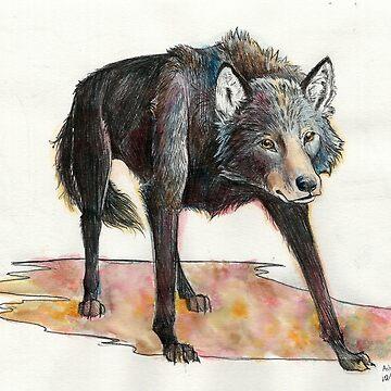 Autumn Wolf by e-pona