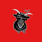 Team BlackSheep PILLOW (red) by aufmschlauch