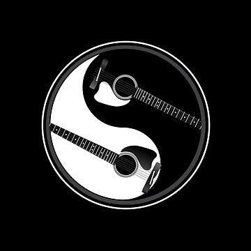 Ying Yang Gitarre von TheFlying6
