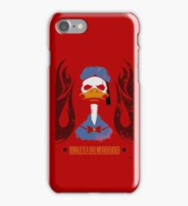 Donald Duck Bad Motherfucker iPhone Case/Skin