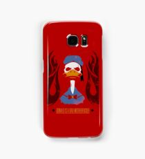 Donald Duck Bad Motherfucker Samsung Galaxy Case/Skin