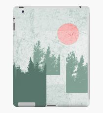 Abstract Green Landscape Design iPad Case/Skin