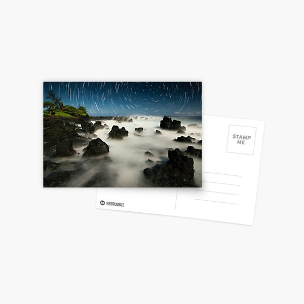 Volcanic Moonlight - Maui  Postcard