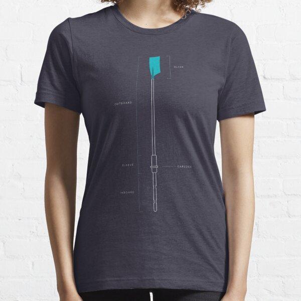 Oar Schematic Essential T-Shirt
