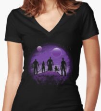 Guardians Women's Fitted V-Neck T-Shirt