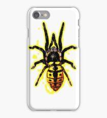 Tarantula Spider Wasp - Designs By Adz Riddell iPhone Case/Skin